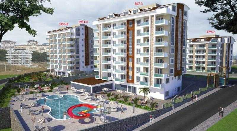 Orion 6 Hill your new home in Turkey - apartments for sale