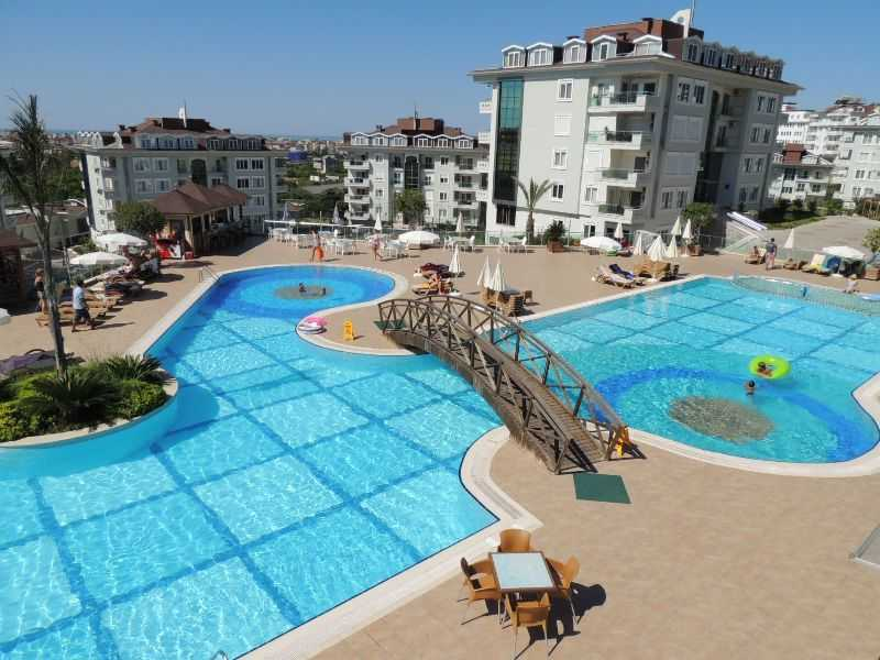 Apartment for rent in Alanya Turkey - Olive city, sauna, large swimming pool, bowling