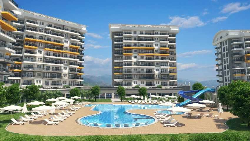 New apartments for sale in Turkey - Orion7 project - Siberland in Avsallar