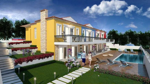 New house for sale in Izmir only 600 m from the sea