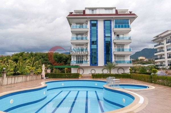 Three-room apartment only 100 m to the beach Alanya Kestel