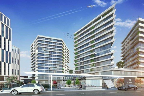 New apartments for sale in Istanbul part Bahçelievler