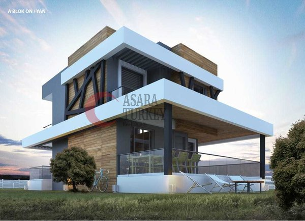 Modern newly built villas for sale in Izmir - Çeşme