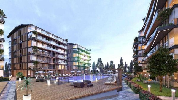 New built apartments for an ideal holiday in Turkey Antalya - Muratpaşa