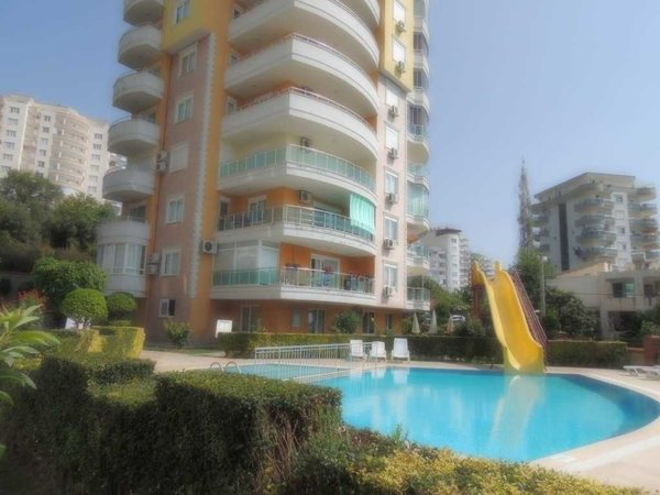 Apartment for sale with sea and nature view - Mahmutlar
