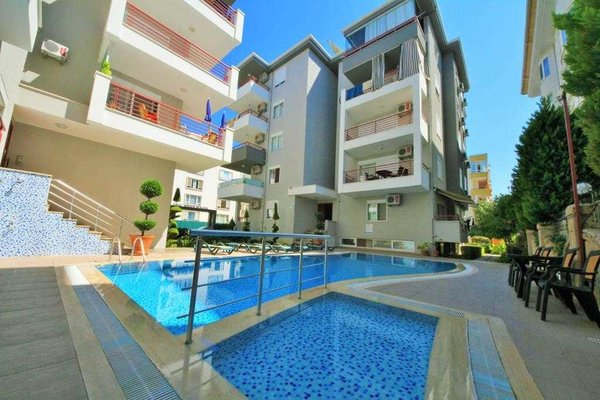 Apartment for sale in Oba Alanya offer a good holiday location in a family residence