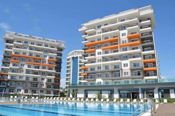 Flat for sale in Avsallar - Activities in the complex for family holiday