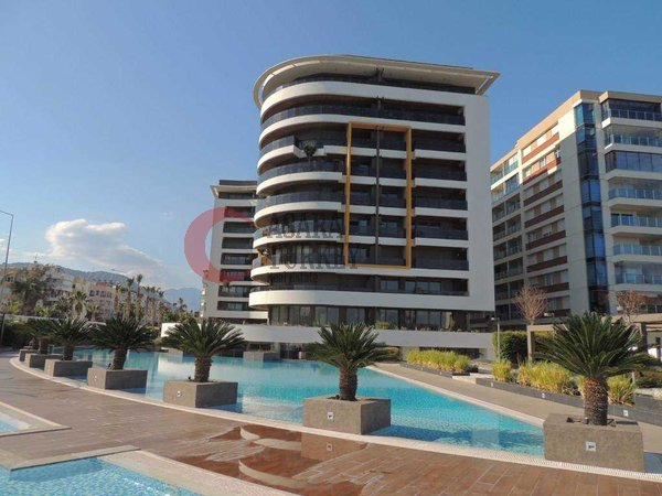 Luxury apartment with many activities in the complex and sea view in Antalya - Konyaaltı
