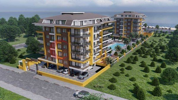 New luxury residence in Kestel Alanya - apartments for sale Turkey