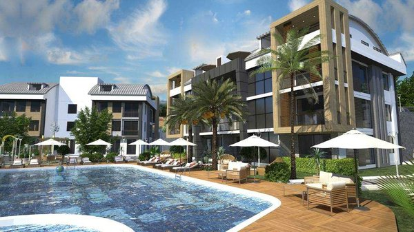 New apartments in modern complex - Alanya district Tepe