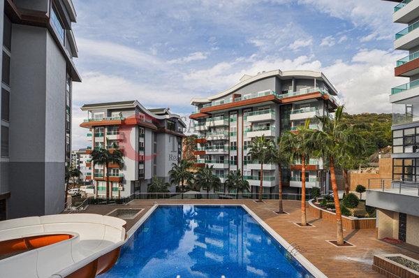 New spacious flat for sale in Turkey , Alanya Kargicak