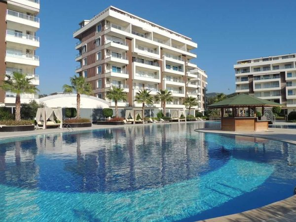 Apartment in a quiet location - complex with many activities Alanya Demirtaş