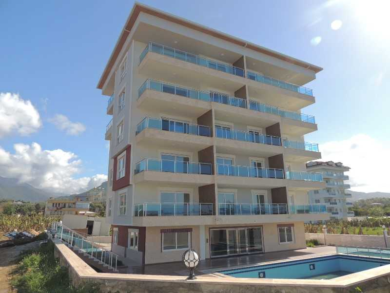 New apartments only 200 m to the beach Alanya - Kestel