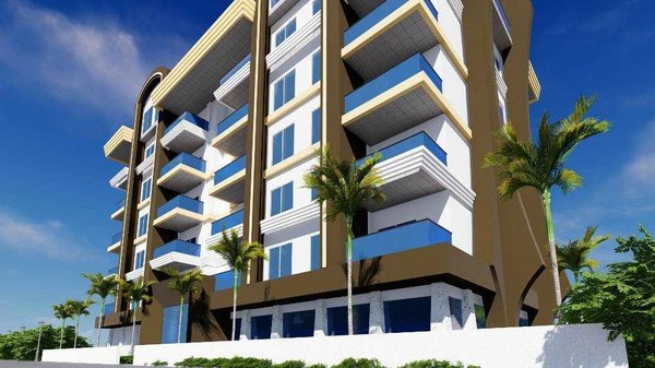 New apartments for sale in Turkey, Mahmutlar - good price