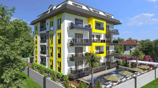 Brand new apartments at low price in peaceful area - Alanya Avsallar