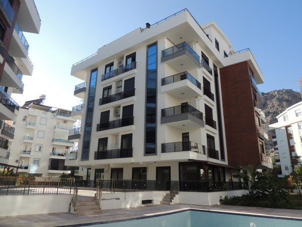 Apartment for sale with 2 bedrooms in the new building Antalya Konyaaltı - Turkey