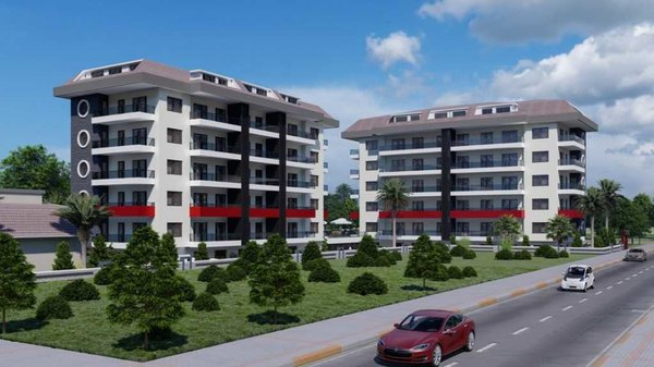 New apartments near the beach with many activities in Alanya - Kestel