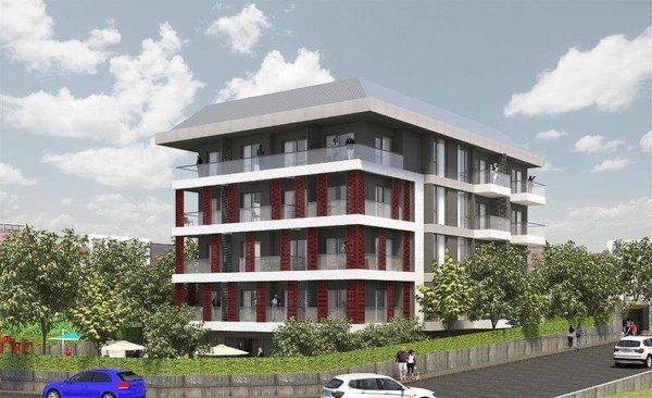 New modern apartments for sale in the center of Alanya - Cleopatra beach