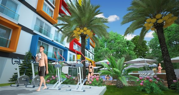 Cheap apartment in Avsallar Alanya