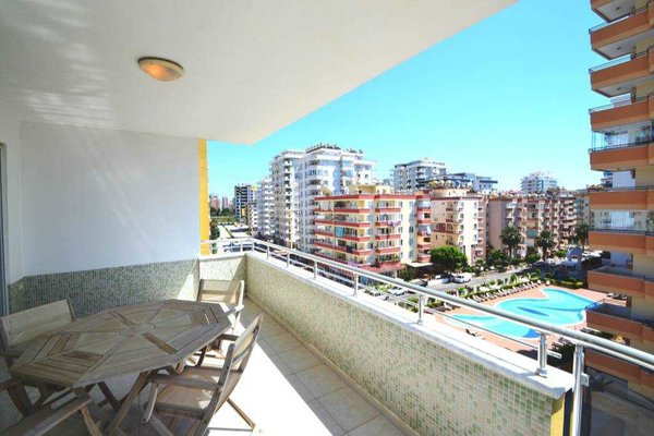 Spacious furnished 4-room apartment in Alanya - Mahmutlar