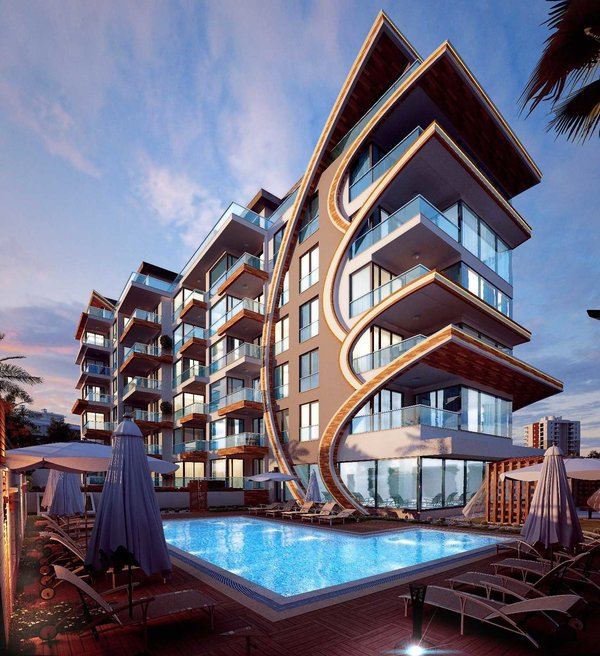 New project in Kestel Turkey - direct by the sea brand new luxury apartments