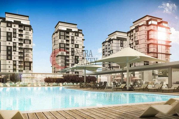 New apartments for sale in Istanbul Turkey - near a new airport