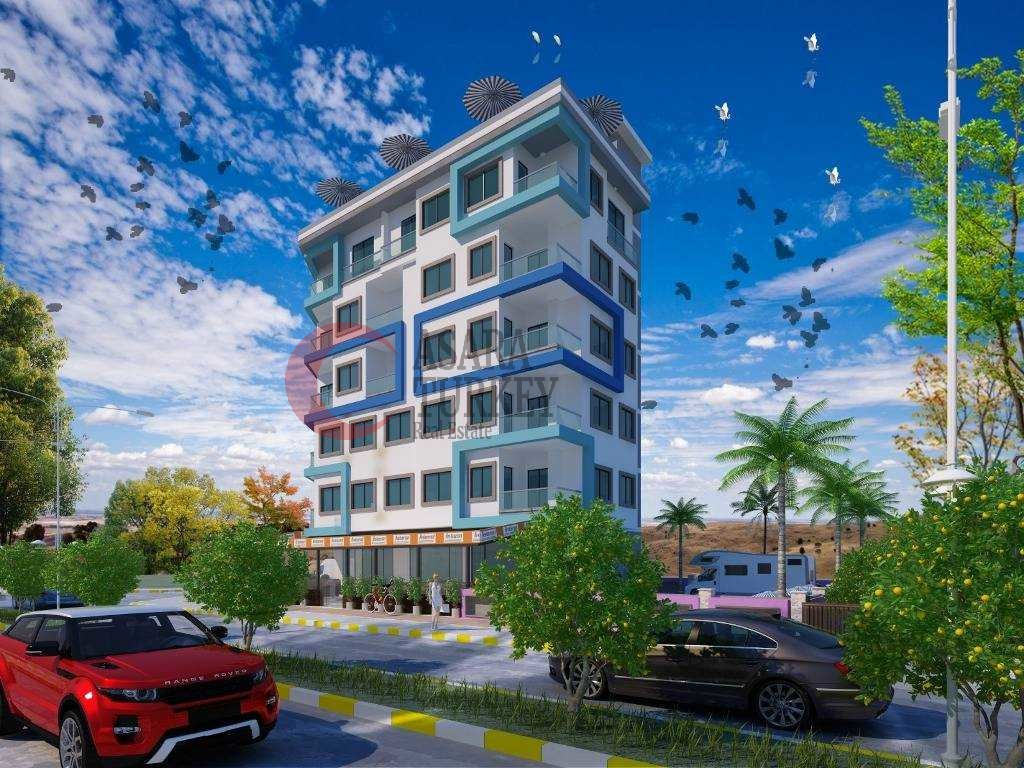 The newly built maisonettes in low price Alanya - Mahmutlar